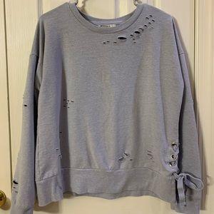 Forever 21 Gray sweatshirt. Size medium.